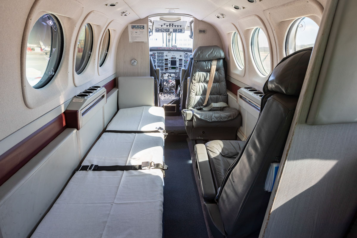 Medical Airplane Transfers - King Air C90B