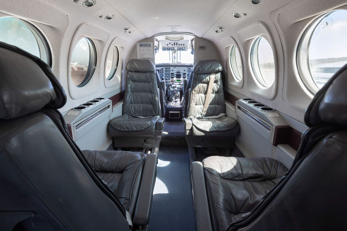 VIP Airplane Transfers - King Air C90B