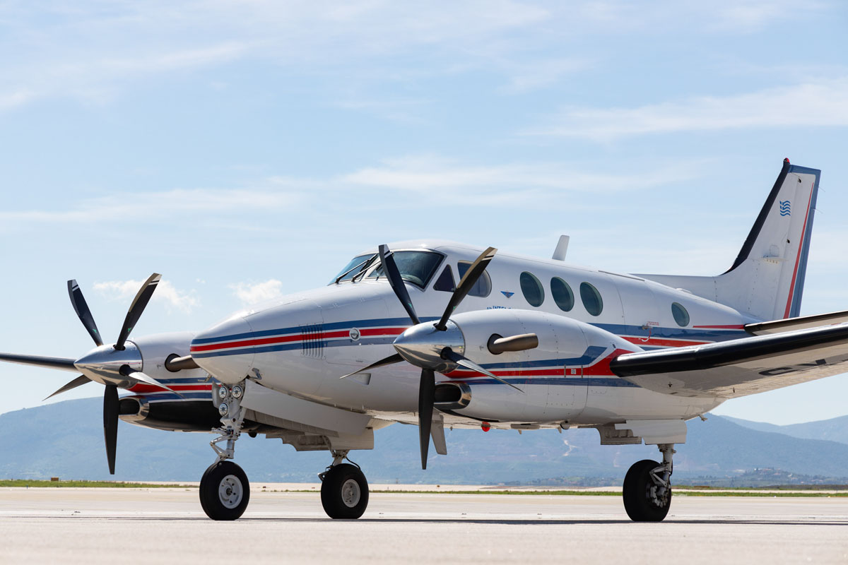 King Air C90B - Air Intersalonika
