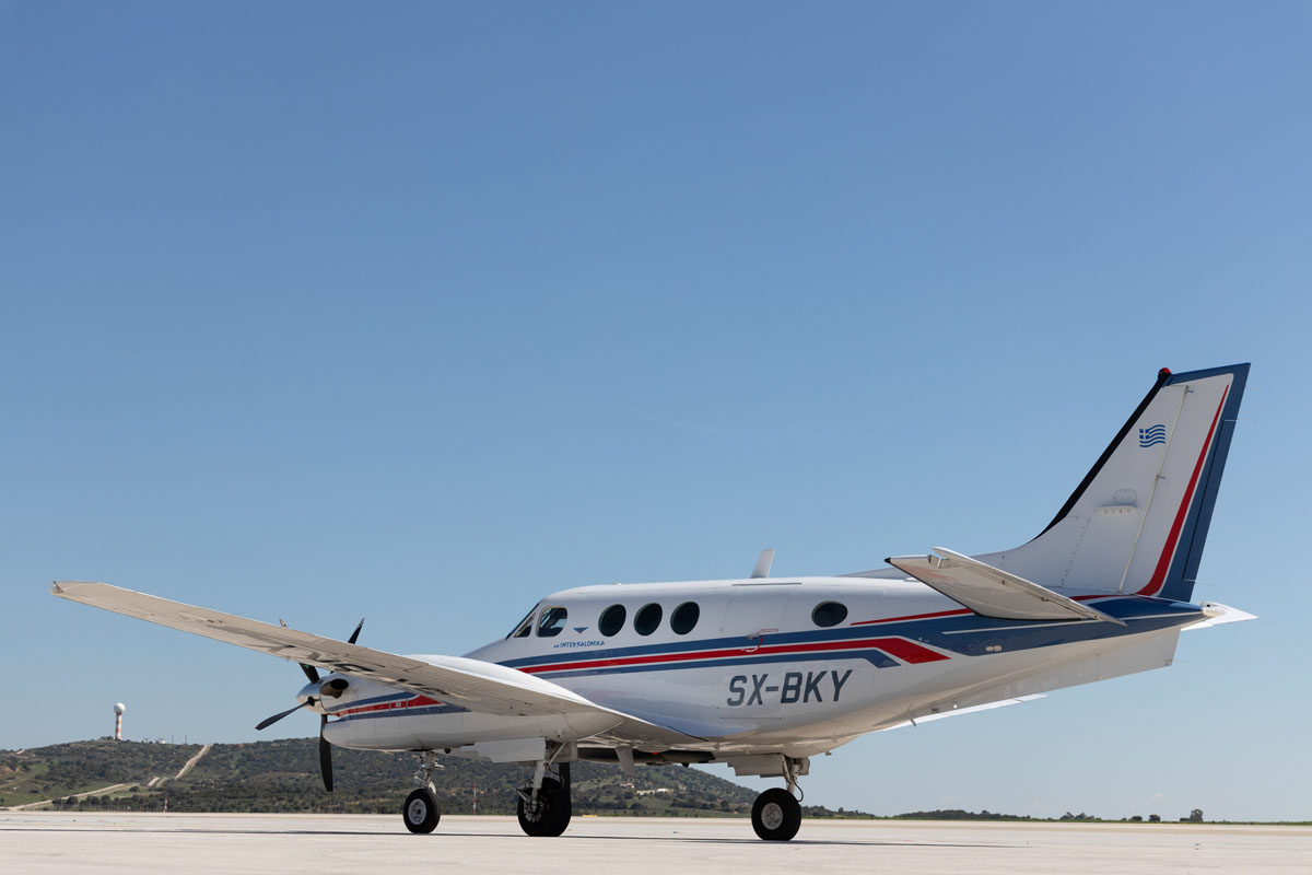 King Air C90B - Air Intersalonika - Vip Airplane