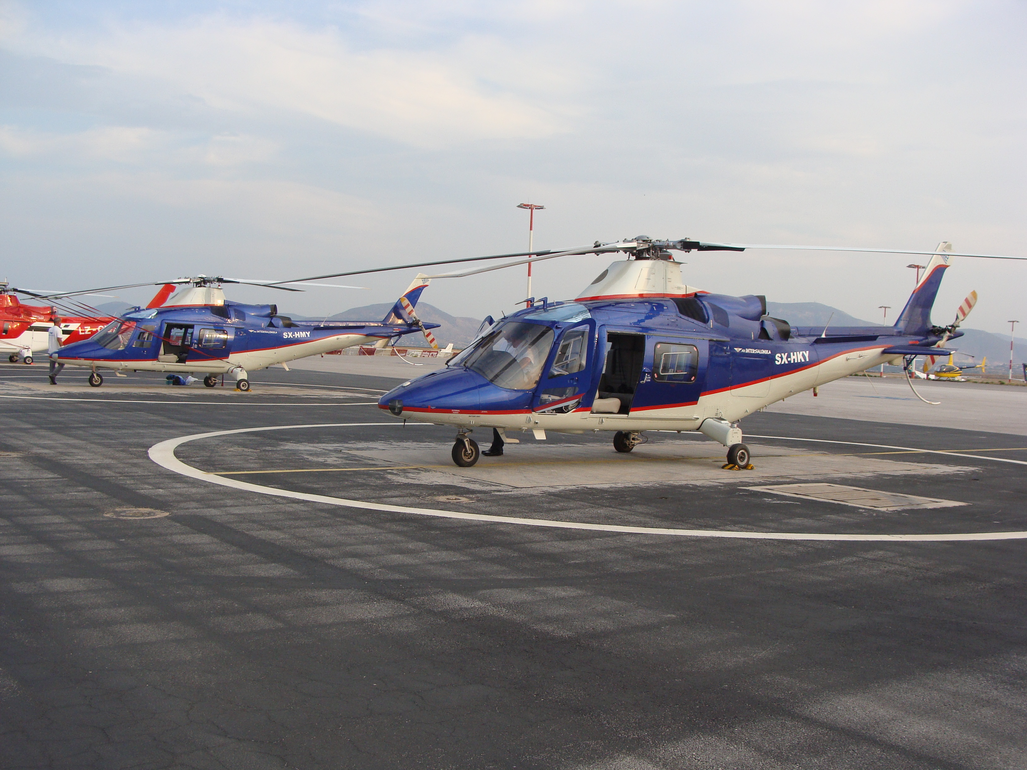 VIP Air Intersalonika Helicopter Fleet - AS355N